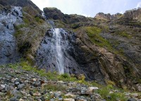 Первый Софруджинский водопад