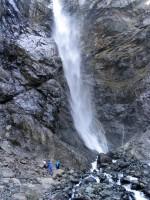 Второй Софруджинский водопад - нижняя часть