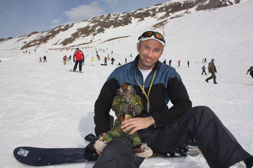 Байрамкулов Маджир, инструктор по сноуборду