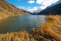 Форельное озеро (конец октября, листья облетели)