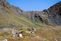 Перевал Чучхур, перевальный взлёт