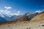 Подготовка к горнолыжному сезону в Домбае: новые трассы, расширение старых - фото 1 - увеличить