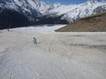 Состояние снега в Домбае - начало марта 2017 - фото 2 - увеличить