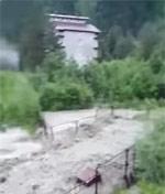 Наводнение в Домбае - фото 1