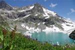 Клухорское озеро: суровое и малодоступное - фото 1 - увеличить