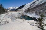 Домбай: зимние и весенние пешие прогулки на снегоступах - фото 1