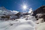 Домбай: зимние и весенние пешие прогулки на снегоступах - фото 2