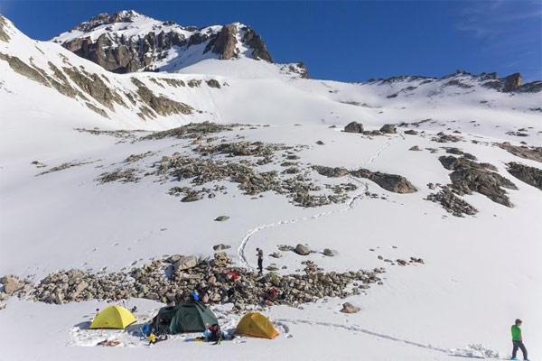 Домбай - походы с палаткой