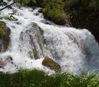 Чучхурский водопад - средний каскад