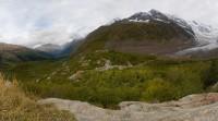 Панорама с обзорной точки по пути к Турьему озеру