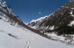 Домбай в конце апреля 2019-го: пешие прогулки на снегоступах - Алибек, Домбай-Ульген, Бадукские озера - фото 2 - увеличить