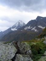 Вид на Белалакаю из начала висячей долины
