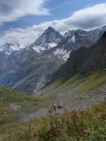 «Висячая долина» перевала Алибек, Белалакая позади